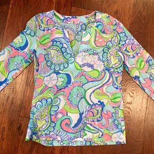Lilly Pulitzer 3/4 sleeve tunic